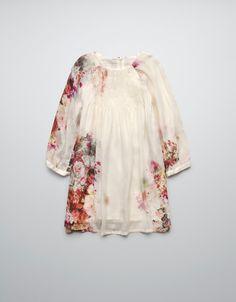 PRINTED DRESS - Dresses - Girl (2-14 years) - Kids - ZARA United States
