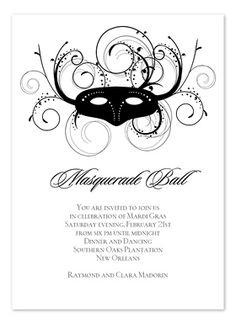 Masquerade on pinterest masquerade ball masquerades and for Masquerade invitations template free