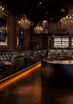 Cake Nightclub 001...the chesterfield booths make me swoon