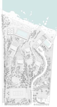 of Aamchit Courtowers / Hashim Sarkis - 30 Image 30 of 46 from gallery of Aamchit Courtowers / Hashim Sarkis. Site PlanImage 30 of 46 from gallery of Aamchit Courtowers / Hashim Sarkis. Architecture Site Plan, Architecture Graphics, Architecture Drawings, Architecture Portfolio, Architecture Diagrams, Architecture Illustrations, Architecture Career, Masterplan Architecture, Architecture Magazines