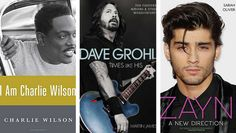 THIS WEEK'S MUSIC BOOKS: Charlie Wilson, Dave Grohl, Zayn Malik, The Cramps, etc. - www.pauseandplay.com/your-music-book-store-june-30-and-beyond