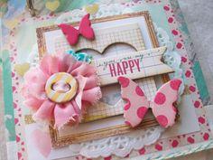 Scrapbook Album Ocbrandy TPHH Premade Photo Handmade Keepsake Mini Clipboard | eBay