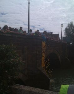 The Annual Duck Race - Arundel our home town by www.pearlandearl.com