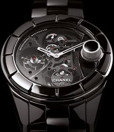 Chanel J12 Tourbillon Retrograde Mysterieuse watch