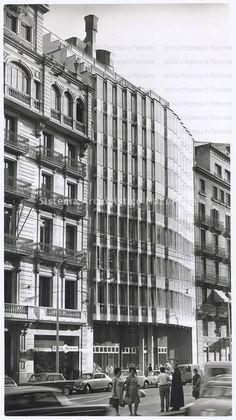 Palazzo per uffici Olivetti Hispano, Barcellona 1964