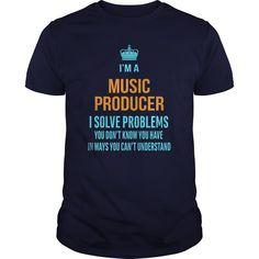 Music Producer DJ T-Shirts, Hoodies. VIEW DETAIL ==► https://www.sunfrog.com/LifeStyle/Music-Producer-DJ-Navy-Blue-Guys.html?id=41382