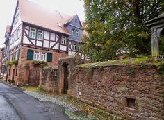 """Unterwegs in der Mittelalterstadt Büdingen - dem """"Rothenburg von Hessen""""    Die Story: http://www.anderswohin.de/2014/10/unterwegs-in-der-mittelalterstadt.html"""