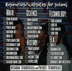 School study tips, apps for school, high school tips, high school essentials,