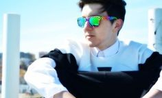 "Sunglasses: ""Italia independent"" Shirt: ""Dolce & Gabbana"" T-Shirt: ""Nais - Minimarket del riciclo"" Baggy Pant: ""MPPANT - DESIGNED BY ME""  http://www.mattiapigliapoco.it/"