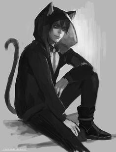 cat-hoodie guy