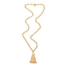 Long Tassel Necklace // FORNASH