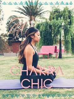 NATIONAL YOGA MONTH: MODERN FIT GETS CHAKRA CHIC