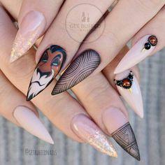 #lionking #thelionking#nails2inspire #nailspiration #nailartideas #nailtechnails #nailartist #naildesigns #nailartistryshare