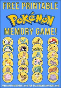 10 Last Minute Printable Stocking Stuffer Games - Printables 4 Mom - Pokemon Pokemon Themed Party, Pokemon Birthday, Pokemon Craft, Pokemon Games For Kids, Pokemon Printables, Free Printables, Birthday Party Games, 7th Birthday, Unicorn Party