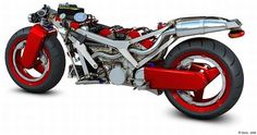 Ferrari Motorcycle Concept is a Red Dream!