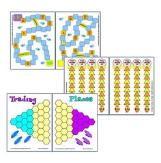 3 Free Game Boards to use with flashcards or task cards