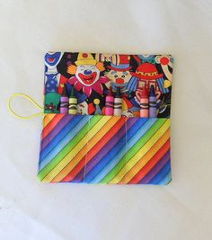 Crayon Roll Up Party Favor  Girls and Boys by Quiltwear on Etsy, $2.95