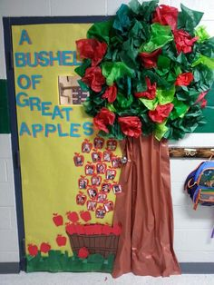 1000 ideas about apple classroom decorations on pinterest for Apple tree classroom decoration