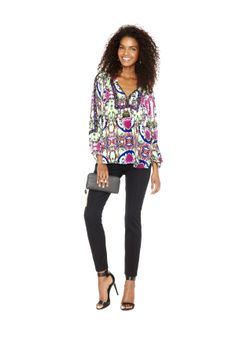 nicole by Nicole Miller Blouse and ankle pant #comingsoon