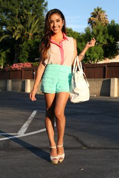 $24 sold out  Teardrop Mint Shorts
