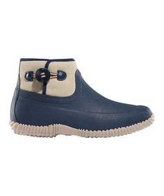 Another great find on #zulily! Canvas & Navy Myrick Mist Ankle Boot by LaCrosse Footwear #zulilyfinds