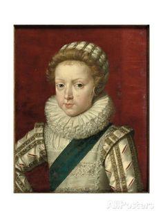 Portrait of Gaston D'Orleans  By: Frans II Pourbus