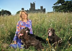 Lady of the manor: Fiona, 8th Countess of Carnarvon, writes a blog about her life running Highclere Castle