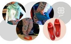 Saru fashion - Palestinian embroidery. Fashionable