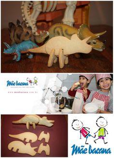 Dino Cookies Mãe bacana