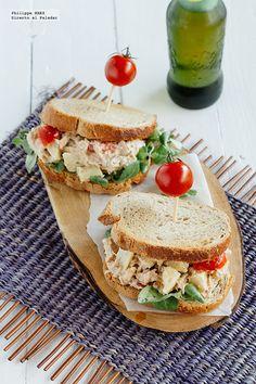 Sándwich de atún y alcachofas. Receta   Directo Al Paladar   Bloglovin'