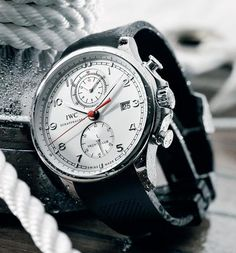 IWC Portuguese Yacht Club with the white Dial