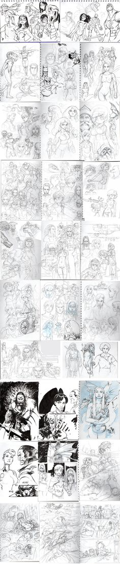 skecthbook by *joel27 on deviantART