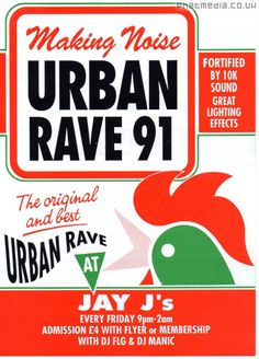 URBAN RAVE 91 @ JJAYS oldskool #raveflyers uploaded to #phatmedia Upload your rave flyers today www.phatmedia.co.uk