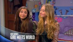 "New series ""Girl Meets World"" airs on Disney Channel Summer® on Friday, June 27th. This show is a sequel to the older Disney Channel® show ""Boy Meets World"" as Cory Topenga have a daughter and Cory and Topenga have to teach her to meet the world as Cory did in Boy Meets World. Riley Matthews (Cory and Topenga's daughter) has to take on the world with her best friends Maya Hart, Lucas Friar, and Farkle Minkus."