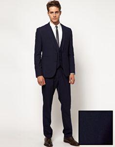 Ted Baker No Ordinary Joe Blue Slim Fit Suit | My Wedding ...