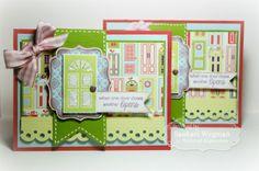December SOTM Open Doors card set by Sankari Wegman #StampoftheMonth, #Cardmaking, #Encouragement, http://tayloredexpressions.com/kits.html