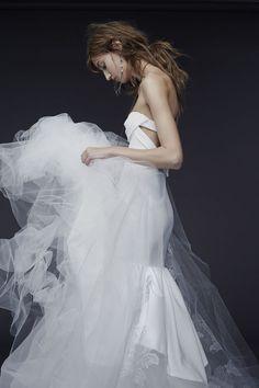 Vera Wang fall 2015 cutout wedding dress