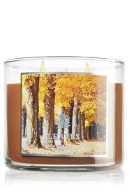 Leaves 14.5 oz. 3-Wick Candle - Slatkin & Co. - Bath & Body Works: How I love BBW. :) FALL CANDLES!