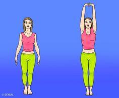 6 öregedésgátló gyakorlat, amitől a tested olyan lesz, mint új korában Anti Aging, Yoga Fitness, Health Fitness, 300 Workout, Workouts, Stress Relief Exercises, Benefits Of Exercise, Breathing Techniques, Healthy Aging