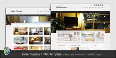This Deals Hotel Classica - Clean Minimalist HTML Templateonline after you search a lot for where to buy