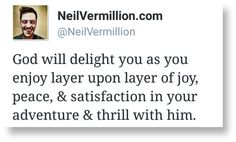 #DailyPropheticWord - Fulfillment In Ways You Cannot Imagine -  For my plans are vast. They are so vast. And yet, though they are vast, there is so much room for individual detail. There is so much room for improvisation.   Finish reading at http://www.neilvermillion.com/daily-prophetic/fulfillment-in-ways-you-cannot-imagine/