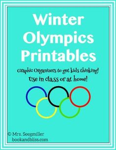 Perfect resource for Olympic projects in the classroom. Olympic Idea, Olympic Games, Olympic Crafts, Kids Olympics, Winter Olympics 2014, Homeschool Math, Homeschooling, Community Jobs, Summer Jobs