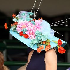 Floral? For Derby? You love to see it.