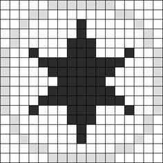 Pokémon Colorless Energy Perler Bead Pattern / Bead Sprite