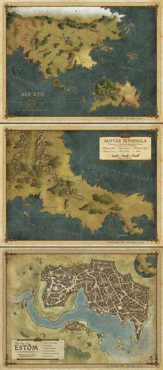 Cloak and Coins maps set by MaximePLASSE.deviantart.com on @DeviantArt