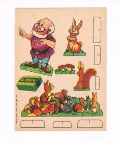 Snow White Seven Dwarfs 1937 Palmolive Soap Card 3