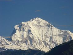 Dhaulagiri-Giant Ice Empire-Dhaulagiri is one of the 8 highest mountains in Nepal and its name has several meanings like White Mountain, gorgeous, stunning and some more which reflects the outlook of this mountain.
