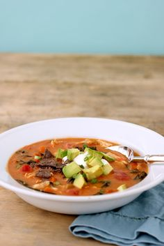 Jenny Steffens Hobick: Chicken Tortilla Soup | Healthy Chicken & Vegetable Packed Mexican Soup