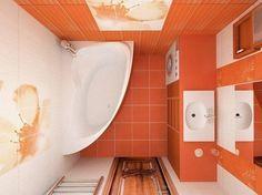 25 заповедей правильного оформления маленькой ванной комнаты!