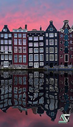 Reflection, Amsterdam, Holland
